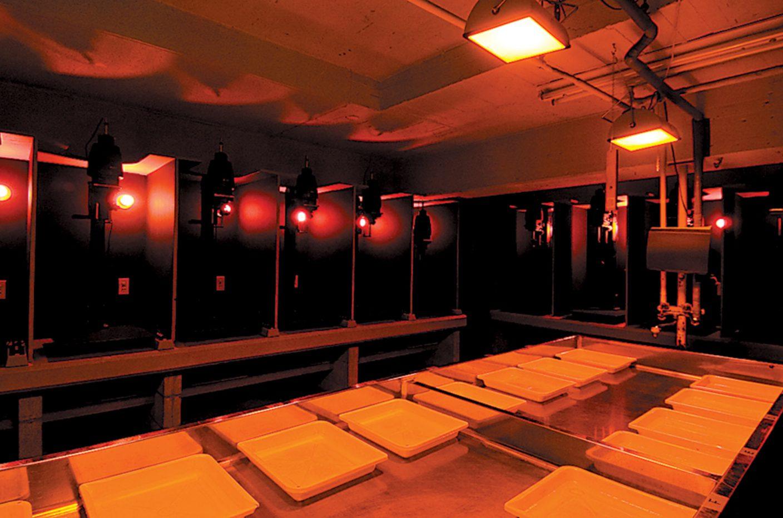 写真:暗室